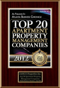 JAMCO Award Winning Property