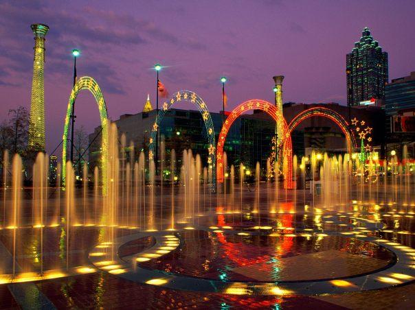 Centennial Olympic Park Atlanta GA