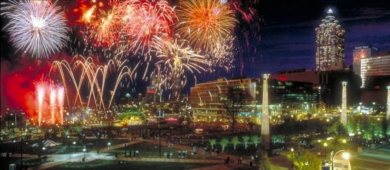 Fireworks-Centennial-Olympic-Park