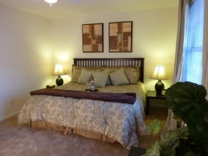 Spacious bedroom at Ashwood Ridge Apartments