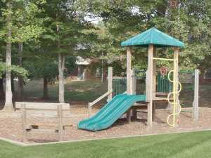 the playground amenity at Bradford Ridge