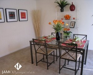 Spacious apartments in Decatur Georgia: the dining room