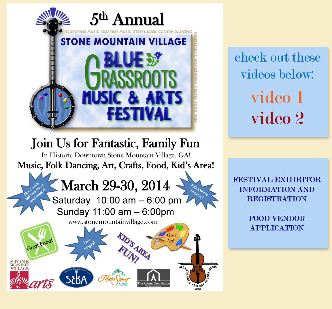 Blue Grassroots Festival Near Willow Lake Apartments In