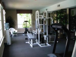 The gym at Stonetree Apartments